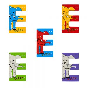 Lanka Kade Wooden Letters - E