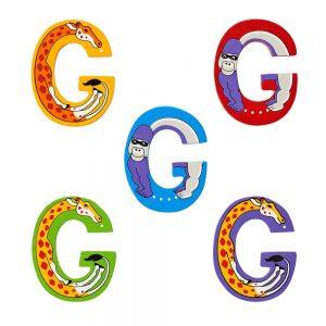 Lanka Kade Wooden Letters - G