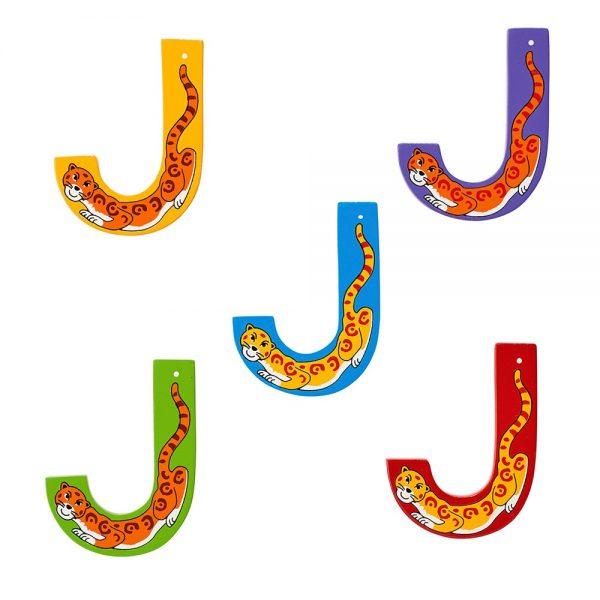 Lanka Kade Wooden Letters J