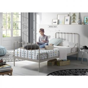 Vipack Alice Bed - Grey