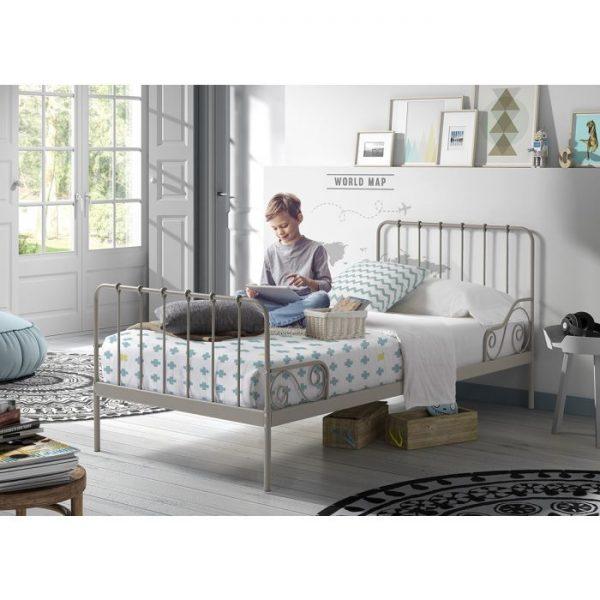 Vipack Alice Bed - Grey