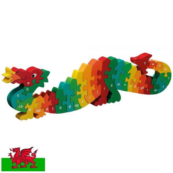 Lanka Kade Dazzle The Welsh Dragon A-Y Jigsaw