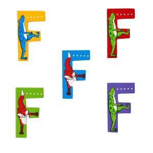 Lanka Kade wooden Letters - F