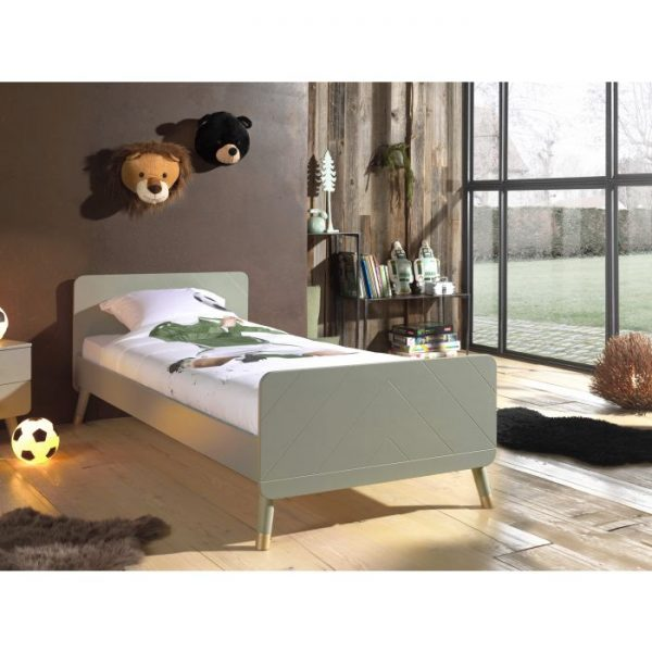 Vipack Billy Bed - Olive Green