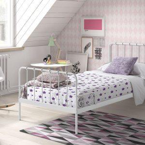 Vipack Alice Bed - White