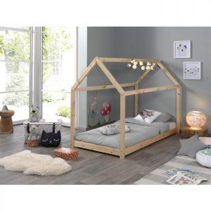 Vipack Canane Bed - Natural