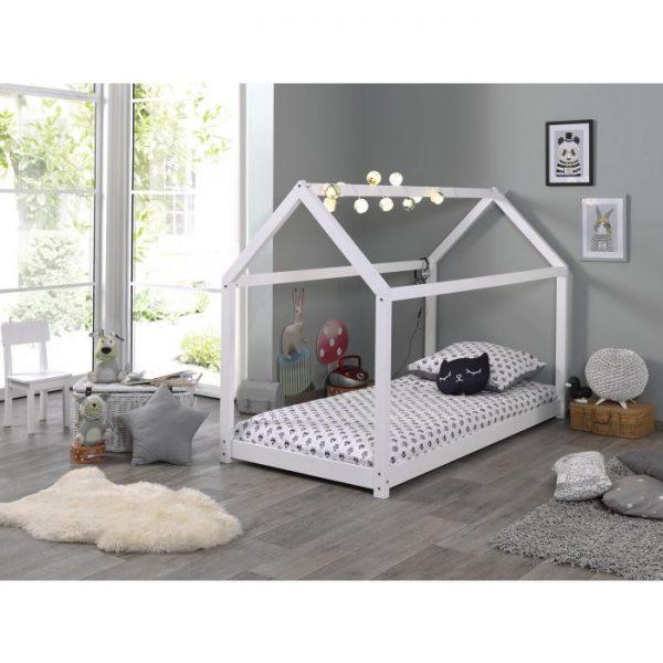 Vipack Cabane Bed - White