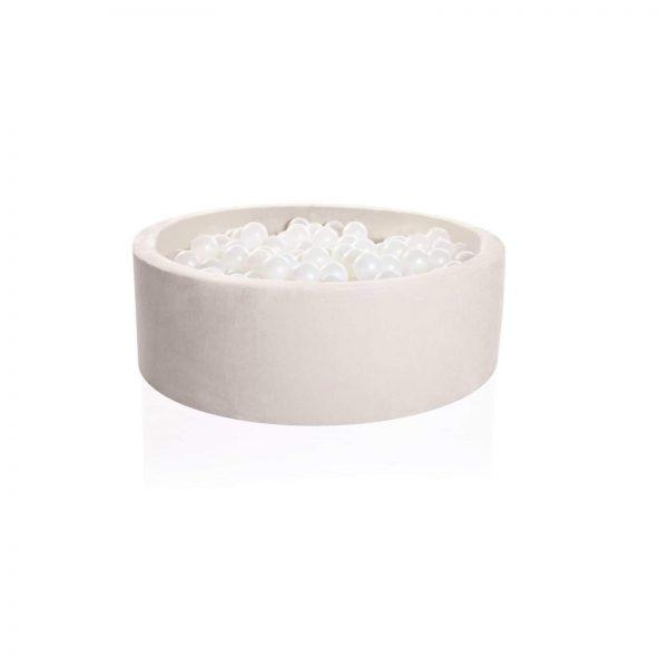 cream ball pit