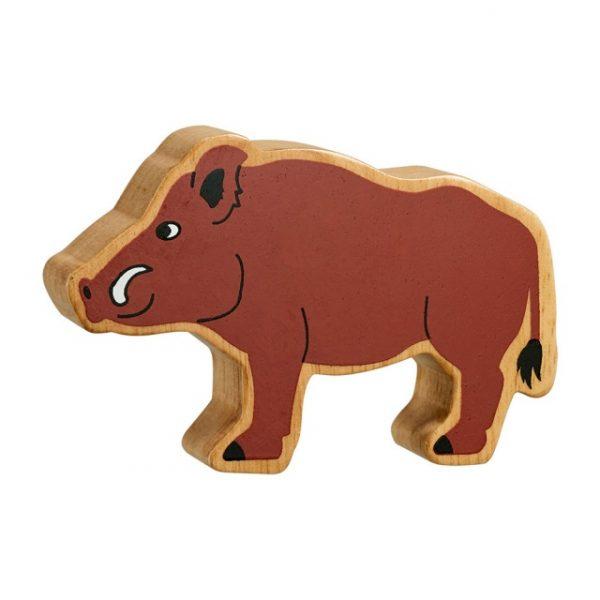 Lanka Kade natural brown wild boar