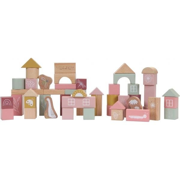 Little Dutch Building Blocks (Pink)