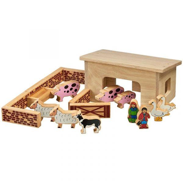 Lanka Kade pig and sheep barn