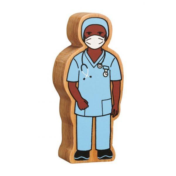 Lanka Kade nurse in scrubs