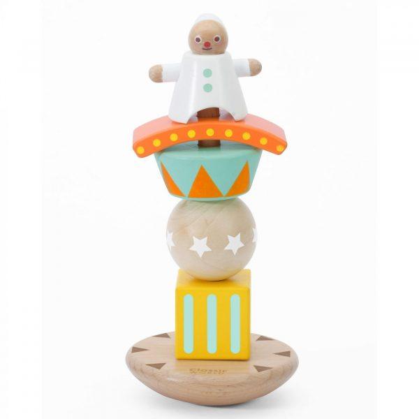 classic world stacking balancing clown
