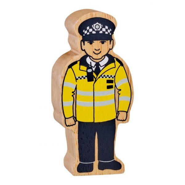 Lanka Kade Natural yellow and black policeman - white skin