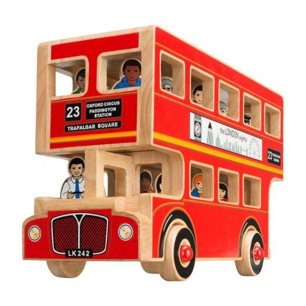 Lanka Kade deluxe London bus