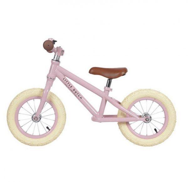 little Dutch Balance Bike Matte Pink