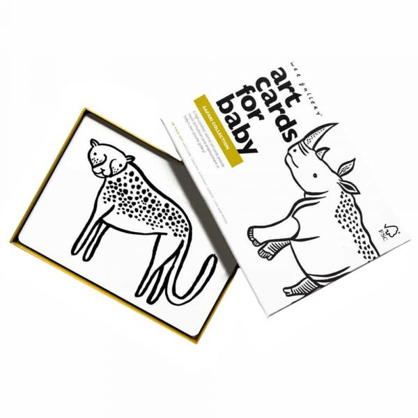 Wee Gallery Art Cards-Safari Collection