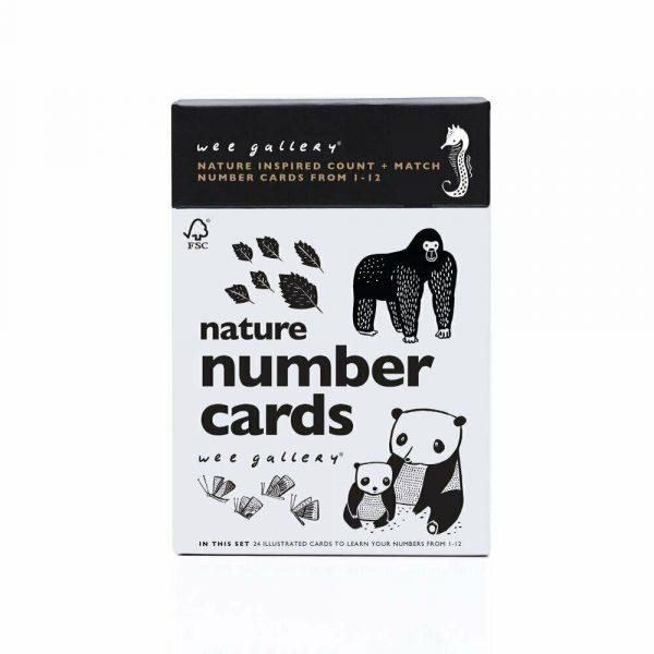 Wee Gallery Number Cards