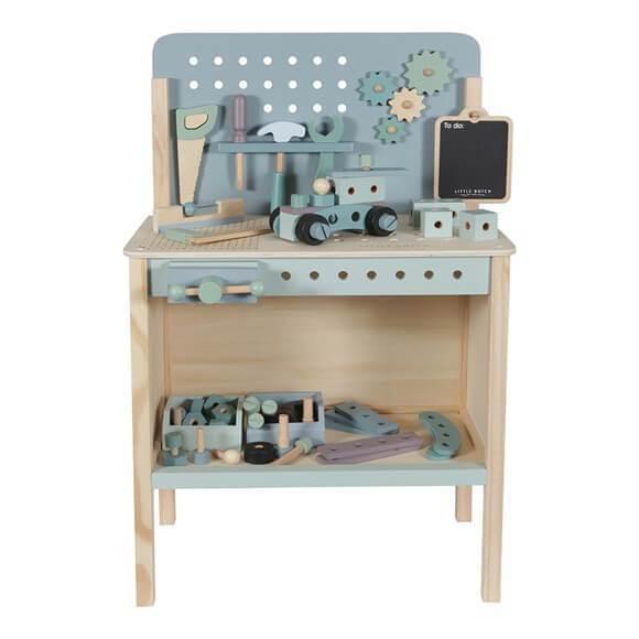 little dutch wooden workbench