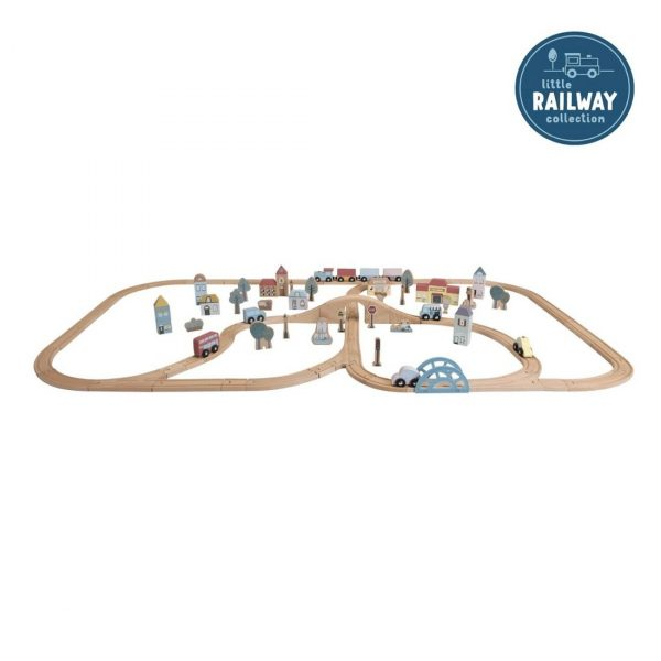 little dutch Railway Trainset