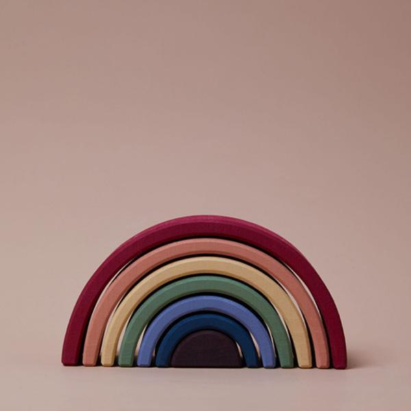 radula grey earth rainbow arch stacker