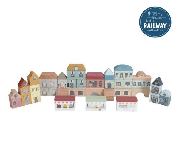 Little Dutch Railway City Building Blocks